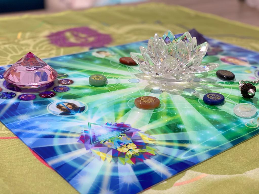 Visual da Mesa de Cura Diamante.