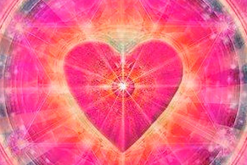 Coração simboliza a terapia multidimensional, que faz parte do programa Desperte sua Essência.