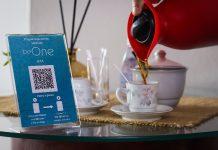 Cliente é servido e já tem uma imagem a disposição para pagar utilizando QR Code.