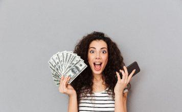 Cashback é uma forma de ter dinheiro disponível.