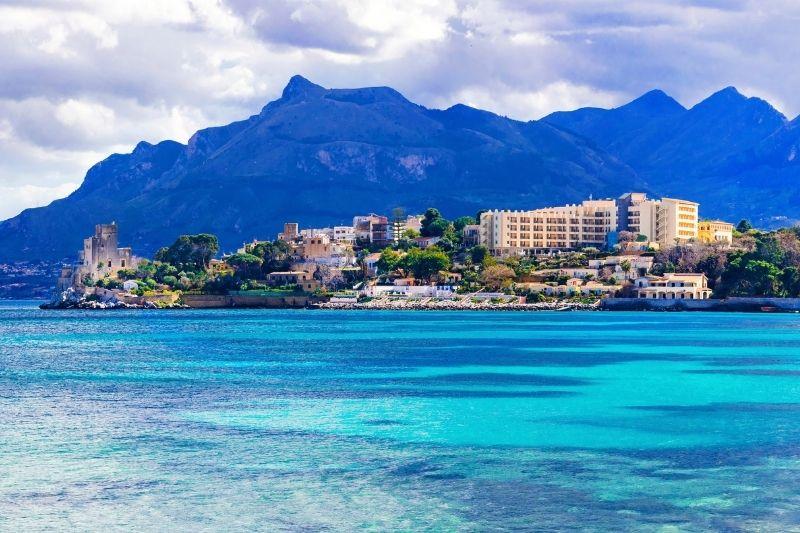 Imagem da ilha de Sicília