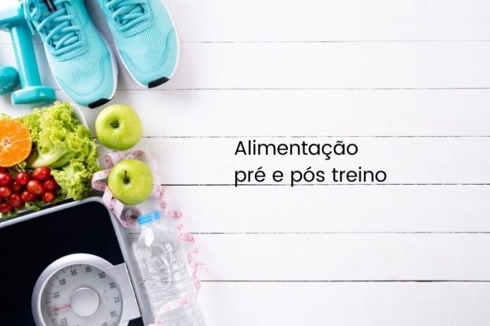 Alimentação pré e pós treino, com orientação da nutricionista do Diabetes, eu cuido.